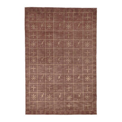 Safavieh - Tibetan Assorted Area Rug TB247B - 8' x 10' - Safavieh's High Touch Tibetan Weave brings an ancient weave and fine materials to the present sensibilities of today's interior design. Simple geometric patterns, almost hidden within the weave, with muted accents, soft shades and neutral earth tones, are the main visual characteristics of this series.