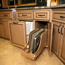 Traditional Cabinet And Drawer Organizers by WESTERN CABINETS