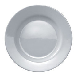 Alessi Dinnerware - Alessi Dinnerware PlateBowlCup Dinner Plate (Set/4) - Set of four dinner plates. This is all you need to make a good everyday table setting. I have always admired Jasper for the coherence and modesty that he applies to his role as a designer, well aware, for example, of the fact that, in traditional household typologies, design evolution has nearly always developed by means of short steps. Today Jasper is one of the most respected designers on the international scene. PlateBowlCup bone china tableware and Glass Family glasses take their place alongside the KnifeForkSpoon cutlery (2005), thus forming the first complete Alessi tableware collection entry level in our catalogs. It gives me great pleasure to use the term entry level, which I consider a kind of title of merit. It is true that the price of these household objects is highly accessible, but this has not compromised the quality of design. Manufactured by Alessi. Designed in 2008.