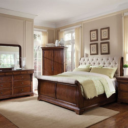 ART Furniture - Margaux 5 Piece Sleigh Bedroom Set - 166125-2630-SET - • French Flair