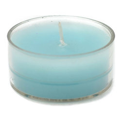 "Jeco - Turquoise Blue Tealight Candles-50pcs/Pack - Traditionally, tealights were used as food warmers. However, tea lights now serve multiple purposes. Line them up at night to create a romantic walkway, or arrange them in tealight holders as a unique centerpiece to complement your dining experience. These tealight candles are hand poured in aluminum cups. PLEASE NOTE: Actual color may differ from the color shown in the image(s) due to monitor displays.; Features: Color: Turquoise; Hand Poured Tealights.; Prices are per box of 50 candles; Size: 1.5"" Diameter x 0.75"" H; Burn Time: 4 - 5 Hours"