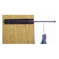 Sliding Closet Valet Rod - Bronze -