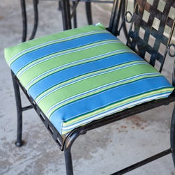 Blazing Needles 19W x 21D Outdoor Seat Cushion - Set of 2 - Just when you thought your Adirondack chair couldn't get better - introducing the Blazing Needles S/2 Outdoor Seat Cushion - Set of 2. This stylish cushion makes your favorite seat even more comfortable so you can rest longer and isn't that the point of an Adirondack chair anyway? This premium outdoor fabric offers UV light and weatherproof protection. Offered in a range of colors and prints so you can find just what you're looking for. About Blazing NeedlesBlazing Needles L.P. specializes in the manufacture of cushions pillows and futons. As a sister company of International Caravan Inc. Blazing Needles provides a wide variety of cushions to fit the frames and furniture pieces made by International Caravan. In particular Blazing Needles' production of papasan cushions occupies a unique niche within their industry and sets them apart as a prime supplier for certain retailers. Other services they provide include contract filling sewing and import sourcing. The headquarters of International Caravan and Blazing Needles is located in Fort Worth Texas.