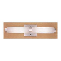 Illuminating Experiences 4 Light Halogen Aluminum Bath Bar - *Luminous tube design.