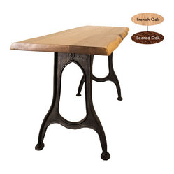 Pittsburgh Console, French Oak/Small
