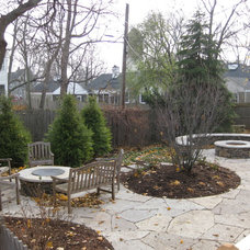 Contemporary Patio by Green Grass, Inc.