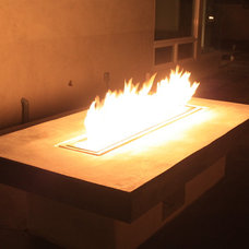Contemporary  Fire Table