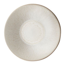 Jars - Vuelta Pearl Soup Plate - Vuelta by Jars is a contemporary collection featuring the company's signature crackled texture and glass-like glaze over a ceramic body. Utilizing stoneware's beautiful simplicity, this collection will add a touch of nature to your table.