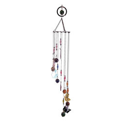 Great World - 33 Inch Multicolored Bass Fish Etched Musical Wind Chime Mobile - This gorgeous 33 Inch Multicolored Bass Fish Etched Musical Wind Chime Mobile has the finest details and highest quality you will find anywhere! 33 Inch Multicolored Bass Fish Etched Musical Wind Chime Mobile is truly remarkable.