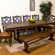 Traditional Dining Tables by La Fuente Imports