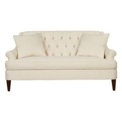 109-68-Marler Tufted Apartment Sofa -
