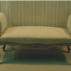 Eclectic Day Beds And Chaises by Francesco Severino Upholstery Inc