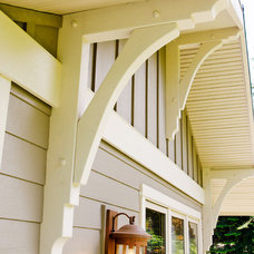 Traditional Exterior by Denise Mitchell Interiors