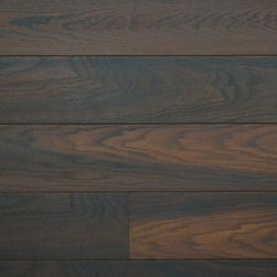 Stikwood - Black Cherry, Box 20 sqft - Dark floors have been on trend for several years now. Now you can take this look to your walls. The look is sophisticated and sleek and these red oak panels couldn't look more polished. They've been naturally treated with oil to achieve a rich tone. And the installation is super easy — just peel and stick!