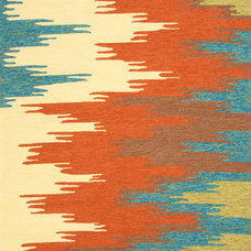 Rustic Outdoor Rugs by Indeed Decor