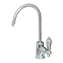Kingston Brass - Restoration Polished Chrome Gourmetier Water Filtration Faucet Chrome KS7191AL - Elegance and style is what the Restoration water filtration faucet is best known for.  Its sleek construction is built sturdy with its solid brass material and the different finishes provided for your household decor.. Manufacturer: Kingston Brass. Model: KS7191AL. UPC: 663370099168. Product Name: Gourmetier KS7191AL Restoration Water Filtration Faucet, Chrome. Collection / Series: Restoration. Finish: Polished Chrome. Theme: Classic. Material: Brass. Type: Faucets. Features: Fabricated from high quality brass material for durability and reliability