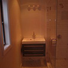 Contemporary Bathroom by NorthBay Construction