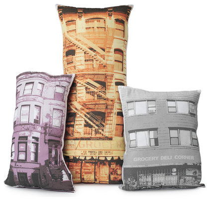 Modern Decorative Pillows by UncommonGoods