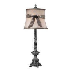 Dimond Lighting - Dimond Lighting 93-10000 Sutton Successor Black Buffet Lamp - Dimond Lighting 93-10000 Sutton Successor Black Buffet Lamp