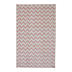 American Rug Craftsmen - American Rug Craftsmen Crib 2 College Fun Lines Pink Rug (5' x 8') - The Crib 2 College collection offers great designs and color combinations that match most any bedding or trendy paint colors.  This collection delivers options catered to creating a unique space that can grow with your child.