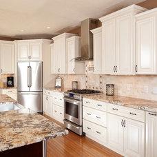 Traditional Kitchen Cabinets by Benito Alomia Designs
