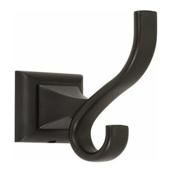 Alno Inc. - Alno Creations Manhattan Robe Hook Bronze A7499-Brz - Alno Creations Manhattan Robe Hook Bronze A7499-Brz