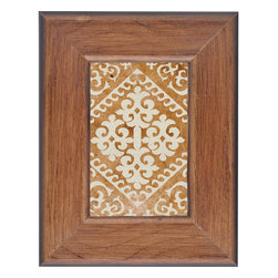 Lightaccents - Home Accents Wooden Picture Frame / Photo Frame 4 x 6 Inches (Gold/Bronze) - Part of the Farmhouse Photo Frame Collection