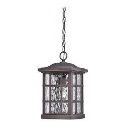 Quoizel Lighting - Quoizel SNN1909 Stonington 1 Light Outdoor Pendant/Chandelier, Palladian Bronze - Outdoor hanging plld brnz