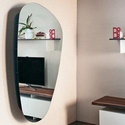 Cattelan Italia | Lens Mirror Bookcase -