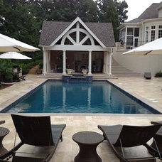 Transitional Pool by Douglas C Lynn, LLC Landscape Architecture