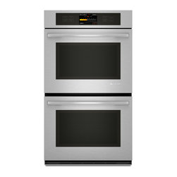 """Jenn-Air 30"""" Double Electric Wall Oven, Stainless Steel With Black 