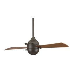Fanimation - FP4520OB Involution 2 Blade Ceiling Fan, Oil Rubbed Bronze - Modern Contempo Ceiling Fan in Oil Rubbed Bronze from the Involution Collection by Fanimation.