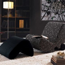 MODERN FABRIC LOUNGE CHAIR WITH OTTOMAN CLICK - MODERN FABRIC LOUNGE CHAIR WITH OTTOMAN CLICK