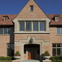 traditional exterior by V Fine Homes