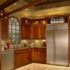 Transitional Refrigerators by Trevarrow, Inc.