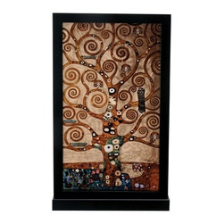 Summit - Gustav Klimt Tree of Life Painting - This gorgeous Gustav Klimt Tree of Life Painting has the finest details and highest quality you will find anywhere! Gustav Klimt Tree of Life Painting is truly remarkable.