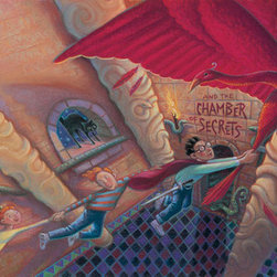 "Clampett Studio Collections - Harry Potter: ""Harry Potter & The Chamber Of Secrets"" Giclee On Paper - Artist: Mary GrandPre"