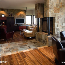 Contemporary Fireplaces by Natural Stone Veneers International, Inc.