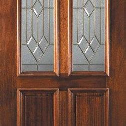 """Prehung Single Door 80 Wood Mahogany Dover 2 Panel Twin Lite Glass - SKU#L11552-DLTD1BrandGlassCraftDoor TypeExteriorManufacturer CollectionTwin Lite Entry DoorsDoor ModelDoverDoor MaterialWoodWoodgrainMahoganyVeneerPrice1705Door Size Options36"""" x 80"""" (3'-0"""" x 6'-8"""")  $0Core TypeDoor StyleDoor Lite StyleTwin LiteDoor Panel Style2 PanelHome Style MatchingDoor ConstructionLegacyPrehanging OptionsPrehungPrehung ConfigurationSingle DoorDoor Thickness (Inches)1.75Glass Thickness (Inches)Glass TypeTriple GlazedGlass CamingSatin NickelGlass FeaturesTempered , BeveledGlass StyleGlass TextureGlass ObscurityDoor FeaturesDoor ApprovalsWind-load Rated , FSC , TCEQ , AMD , NFRC-IG , IRC , NFRC-Safety GlassDoor FinishesDoor AccessoriesWeight (lbs)310Crating Size25"""" (w)x 108"""" (l)x 52"""" (h)Lead TimeSlab Doors: 7 Business DaysPrehung:14 Business DaysPrefinished, PreHung:21 Business DaysWarrantyOne (1) year limited warranty for all unfinished wood doorsOne (1) year limited warranty for all factory?finished wood doors"""
