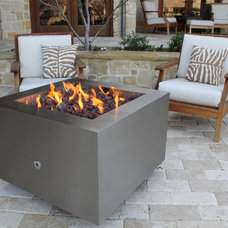 Modern Fire Pits by Creative Living Interior & Exterior decor