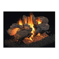 RH Peterson Gas Logs - RH Peterson See Through Series Charred Oak Logs - Best selling see through. Burners not included. Compatible with G4, G45 burners & G5, G45A, G46 ANSI certified burners. Uses natural or propane gas. Vented gas log. Made of refractory ceramics. Lifetime warranty
