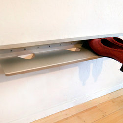 Shoe Shelf - Walk in the door and shed your stuff, but in an organized way.