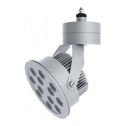 Prima Lighting - Del 112 LED Spot Head - LED spot head for use on Prima Monorail system. Available in three finishes and color temperatures.