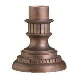 Kichler - Kichler Accessory Outdoor Post/Pier in Bronze - Shown in picture: Outdoor Pier Mount in Legacy Bronze