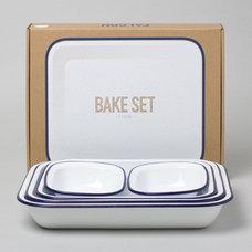 Modern Bakeware Sets by Falcon Enamelware