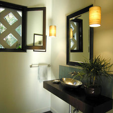 Contemporary Bathroom Countertops by Lily Ann Cabinets