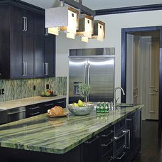 Contemporary Kitchen by Denise McGaha Interiors