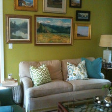 Family Room by Kathleen DiPaolo Designs