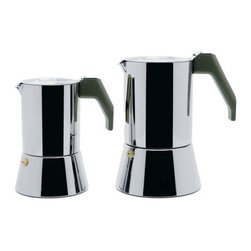 Alessi - Espresso Coffee Maker - Espresso Coffee Maker in 18/10 Stainless SteelItem also available on: