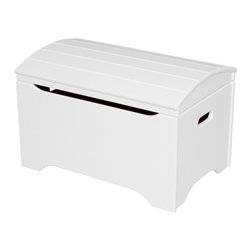 Little Colorado - Little Colorado Solid Wood Toy Storage Chest - Soft White - 053SW - Shop for Childrens Toy Boxes and Storage from Hayneedle.com! Simple and elegant the Little Colorado Solid Wood Toy Storage Chest - Soft White No Personalization may not cause a big stir right away but you'll be enjoying it for years. The smooth white finish covers a hardwood body and arch-top lid that moves on safe and reliable hardware. This chest weighs 37 lbs and requires some assembly.Little Colorado is a Green CompanyAll finishes are water-based low-VOC made by Sherwin Williams and other American manufacturers. Wood raw materials come from environmentally responsible suppliers. MDF used is manufactured by Plum Creek and is certified green CARB-compliant and low-formaldehyde. All packing insulation is 100% post-consumer recycled. All shipping cartons are either 100% post-consumer recycled or are made of recycled cardboard.About Little ColoradoBegun in 1987 Little Colorado Inc. creates solid wood hand-crafted children's furniture. It's a family-owned business that takes pride in building products that are classic stylish and an excellent value. All Little Colorado products are proudly made in the U.S.A. with lead-free paints and materials. With a look that's very expensive but a price that is not Little Colorado products bring quality and affordability to your little one's room.